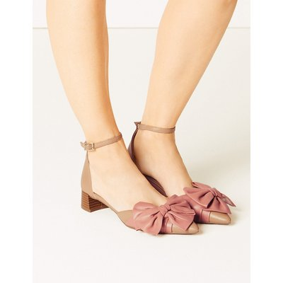 M&S Collection The Fran Bow Court Shoes
