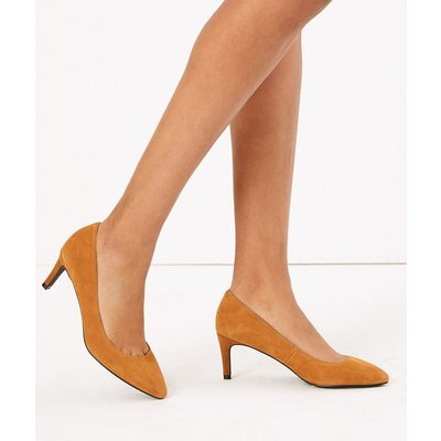 M&S Collection Suede Pointed Court Shoes