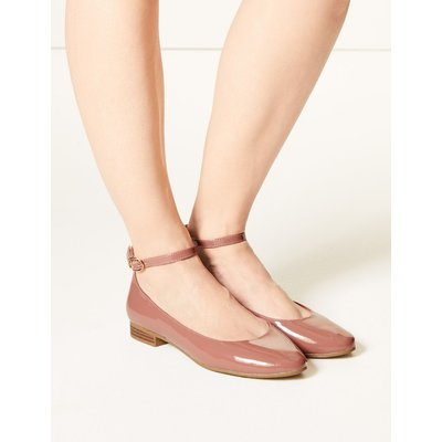 Ankle Strap Pumps pink