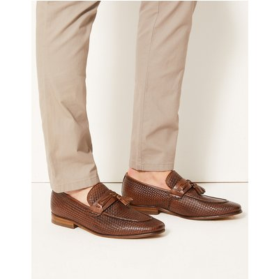 M&S Collection Leather Slip-on Loafers