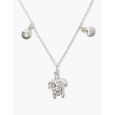 Turtle Necklace silver