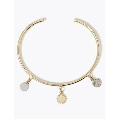 Sun Pendant Bracelet gold
