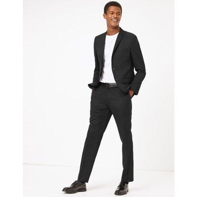 Skinny Fit Jacket black