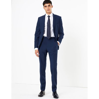 The Ultimate Big & Tall Blue Skinny Fit Jacket blue
