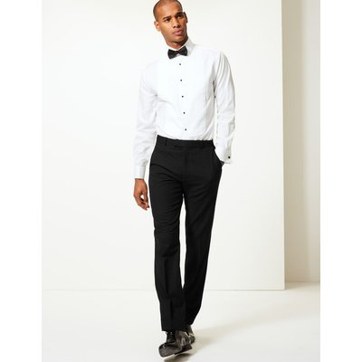 Black Tailored Fit Trousers black