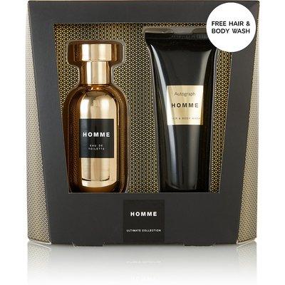 Homme Mens Fragrance & Body Wash Gift Set