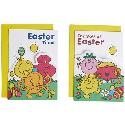 Mr Men™ & Little Miss™ Easter Cards Pack of 6
