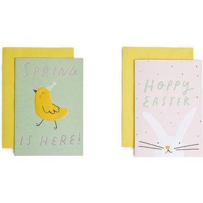 Cute Animals Easter Cards Pack of 6
