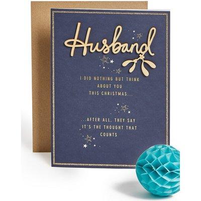 Husband Fun Christmas Charity Card
