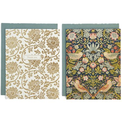Pack of 8 Floral Thank You Cards