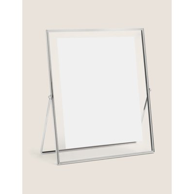 Skinny Easel Photo Frame 8x10 inch silver