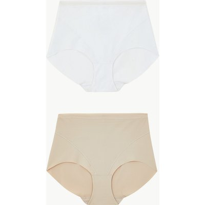 M&S Collection 2 Pack Light Control No VPL Full Briefs