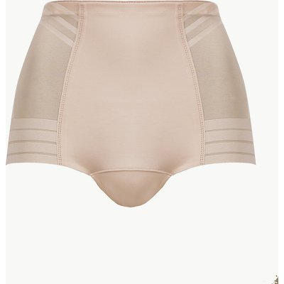 M&S Collection Magicwear Geometric Firm Control Low Leg Knickers
