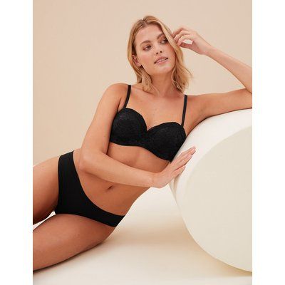 M&S Collection Louisa Lace Padded Bandeau Strapless Bra A-E