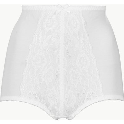 M&S Collection Firm Control Traditional Floral Lace Knickers