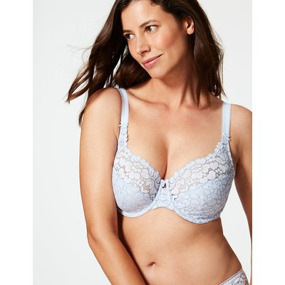 M&S Collection Cool Comfort Cotton Rich Non-Padded Full Cup Bra DD-H