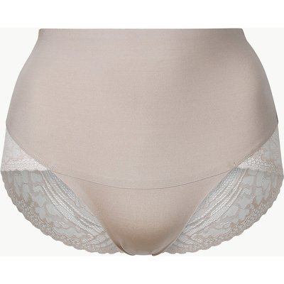 M&S Collection Smoothlines Firm Control High Leg Shaping knickers