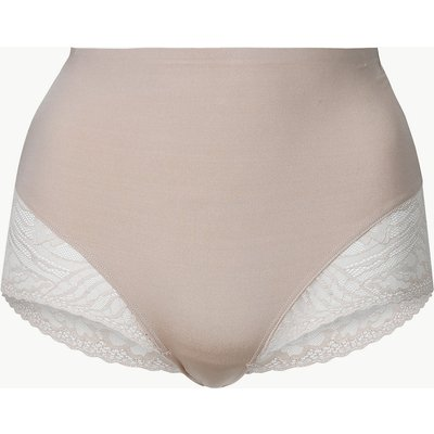 M&S Collection Smoothlines Firm Control Low Leg Knickers