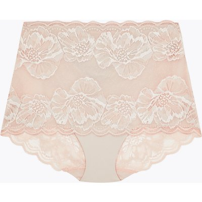 M&S Collection Lace Bandeau Medium Control Full Brief Shaping Knickers