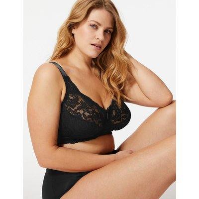M&S Collection Total Support All-Over Fleur Lace Full Cup Bra B-G