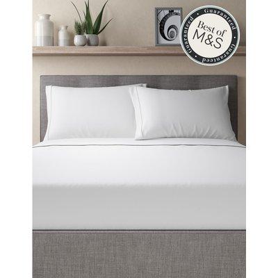 Egyptian Cotton 230 Thread Count Standard Pillowcase white