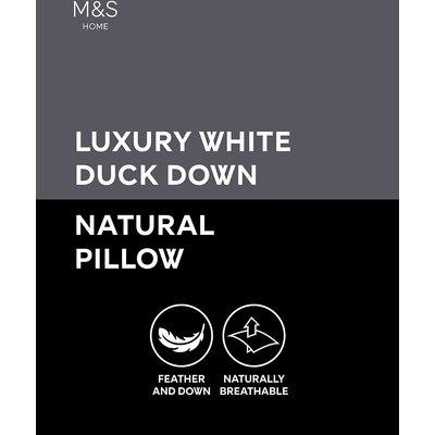 Luxury Duck Down Medium Pillow