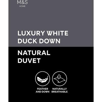 Luxury Duck Down 4.5 Tog Duvet