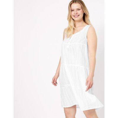 Cotton Broderie Nightdress white