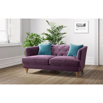 M&S Sophia Small Sofa - Natural, Natural,Navy,Charcoal,Duck Egg,Steel,Dark Red,Dark Teal,Indigo,Silver,Denim