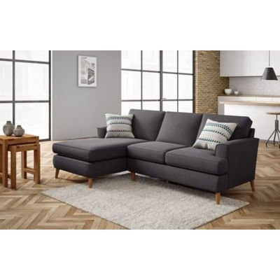 M&S Copenhagen Corner Chaise Sofa (Left-Hand) - L3STC - Terracotta, Terracotta,Light Grey,Grey,Navy,Ochre,Teal,Blush Pink,Natural
