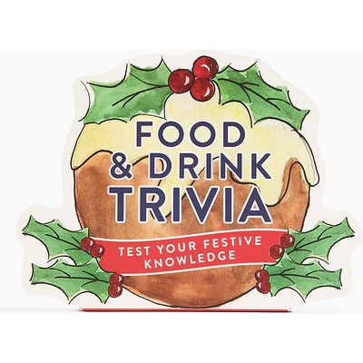 Christmas Food & Drink Trivia Game