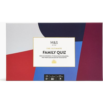 The Ultimate Family Quiz Game