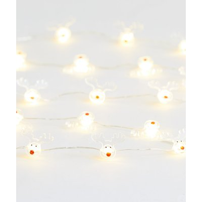 20 Reindeer Wire Lights, Multi