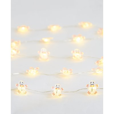 20 Gingerbread Wire Lights, Multi