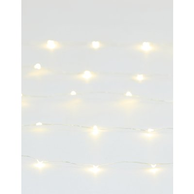 80 Silver Wire Lights