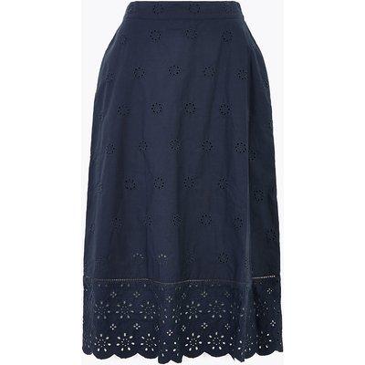 M&S Collection Pure Cotton Circle Midi Skirt
