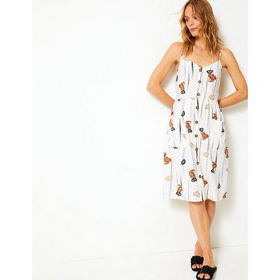 Per Una Cami Floral Print Waisted Dress