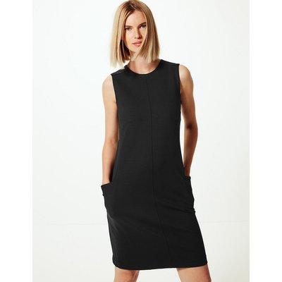 M&S Collection Ponte Patch Pocket Shift Dress