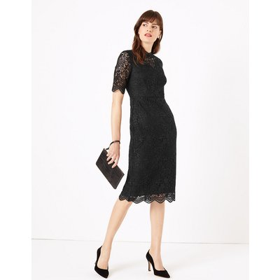 M&S Collection Guipure Lace Bodycon Midi Dress