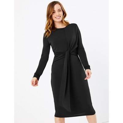 M&S Collection PETITE Jersey Bodycon Midi Dress