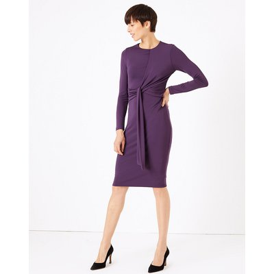 M&S Collection Bodycon Jersey Midi Dress