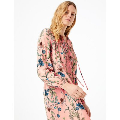 M&S Collection Floral Print Relaxed Dress