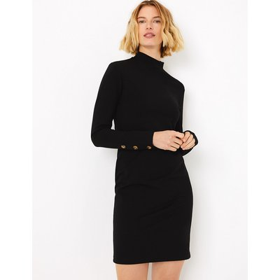 M&S Collection Button Detailed Shift Dress
