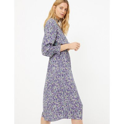 M&S Collection Floral Waisted Midi Dress