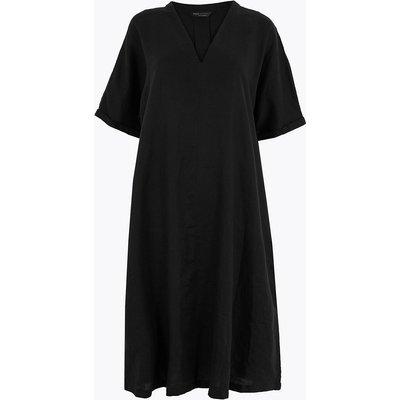 M&S Collection Pure Linen Shift Dress