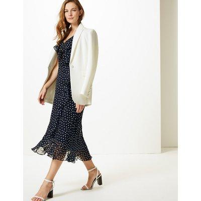 M&S Collection Polka Dot Wrap Midi Dress