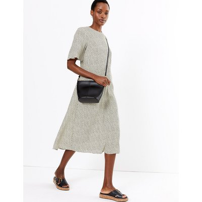 M&S Collection Polka Dot Relaxed Midi Dress
