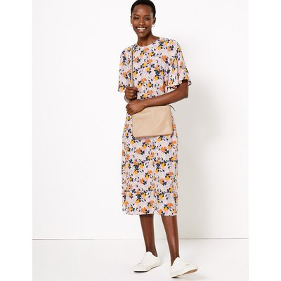 M&S Collection Floral Midi Relaxed Dress
