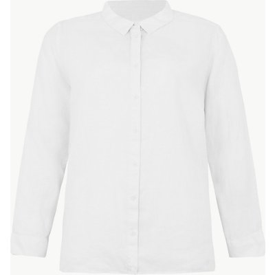 M&S Collection CURVE Pure Linen Shirt