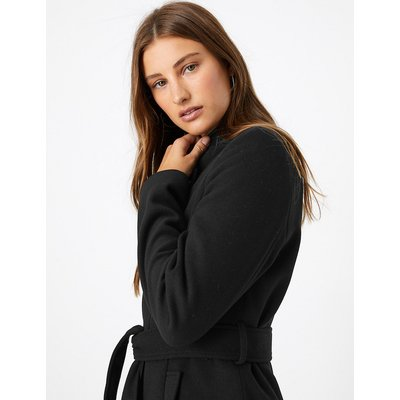 M&S Collection Soft Touch Wrap Coat